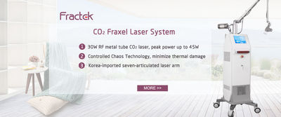 qualité Co2 Machine laser fractionnel usines