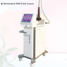 Peau à commutation de Q Rejuvenational de ND Yag de laser de ND Yag de laser de retrait à commutation de Q portatif de tatouage
